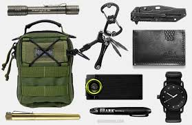 Every day carry crisis gear