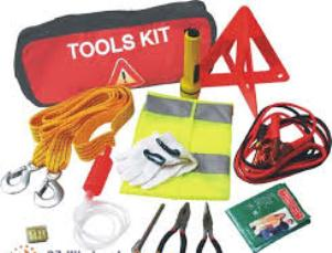 car repair bug out bag kit