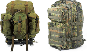 Alice And Molle Tactical Bug Out Bags