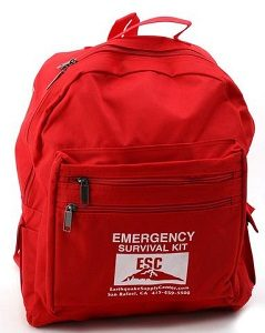 Earthquake Bug Out Bag Equipment