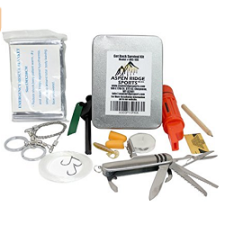 Aspen Ridge Sports Emergency Survival Kit