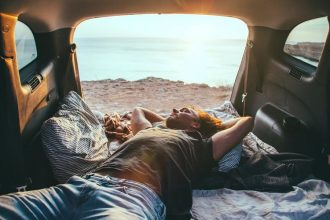 IS SLEEPING IN YOUR CAR AT A CAMPSITE ALLOWED
