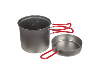 BACKPACKING POT SIZE FOR TWO